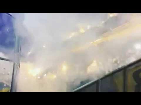 """""""Recibimiento De Los Guerreros vs Atl Tucuman #Fecha19"""" Barra: Los Guerreros • Club: Rosario Central"""