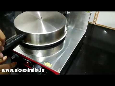 Akasa Indian Waffle Cone Machine