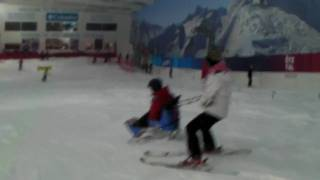 preview picture of video 'BASI Adaptive course, The Snow Centre, Hemel Hempstead'