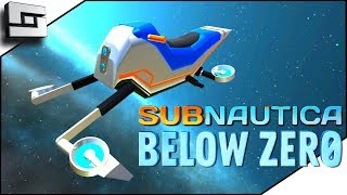 How To Unlock The Snowfox Hoverbike! Subnautica Below Zero Gameplay - E5