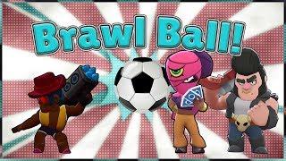 BRAWL BALL New Game Mode | Brawl Stars | More Fun Than FIFA!