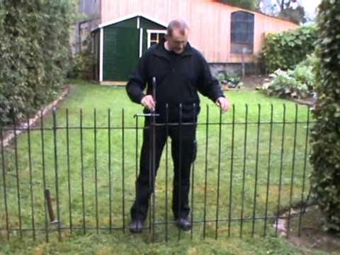 Montageaneitung für den Steck- und Hundezaun Modell anneau