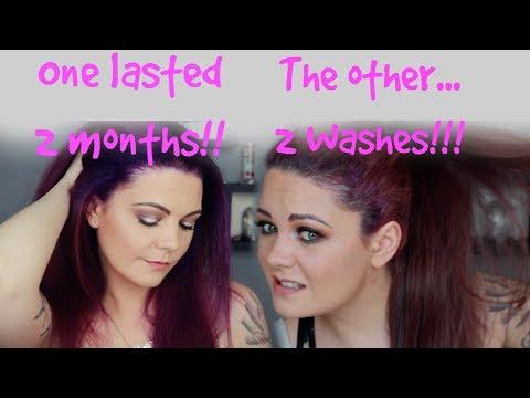 Manic panic hair dye vs Arctic fox | Best purple hair dye?