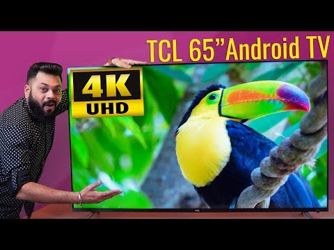 "TCL 65"" 4K UHD Android SmartTV Unboxing & First Impressions ⚡⚡⚡ Decent Budget Offering!"