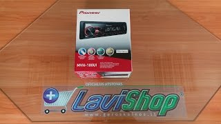 Unboxing Pioneer MVH-180UI Car Stereo - New 2016 USB, Aux In, FLAC