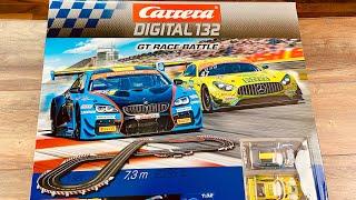 Carrera Digital 132 GT Race Battle - Test & Unboxing - AMG & BMW Slotcar Carrerabahn 20030011