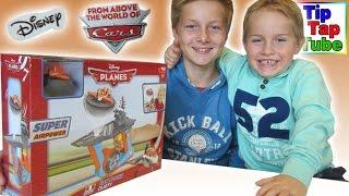 Disney Planes Super Airpower Fan Plane Dusty Dickie Spielzeug auspacken und spielen Kinderkanal