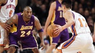jeremy Lin vs Kobe Bryant Full Duel Highlights 2012.02.10 - LINSANITY Takes on the Black MAMBA!