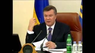 Приколы и Ляпы Януковича