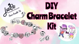 JustBe - DIY Charm Bracelet Making Kit REVIEW || Terrible Or Totally Worth It?!