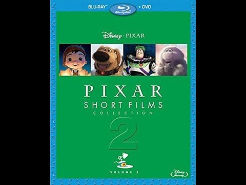 Sneak Peeks From PIXAR: Short Films Collection Volume 2 2012 Blu-Ray