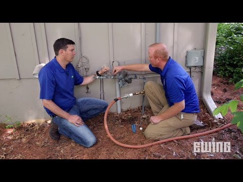 How to Winterize a Sprinkler System - Blow Out Method