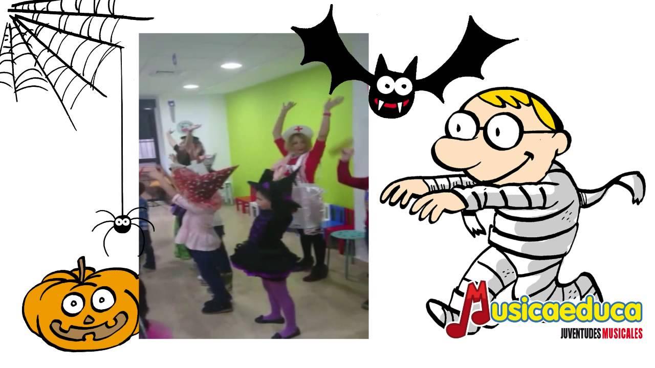 Bailando la canción infantil - Halloween