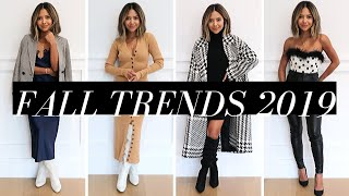 10 Fall Fashion Trends That Are Practical & Easy To Wear | Fall / Winter 2019
