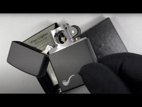 218PL Зажигалка Zippo for Pipe, Black Matte
