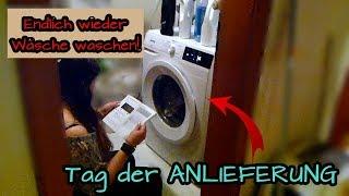 NEUE Waschmaschine wird geliefert | Endlich wieder WÄSCHE WASCHEN! | VLOG | Gorenje