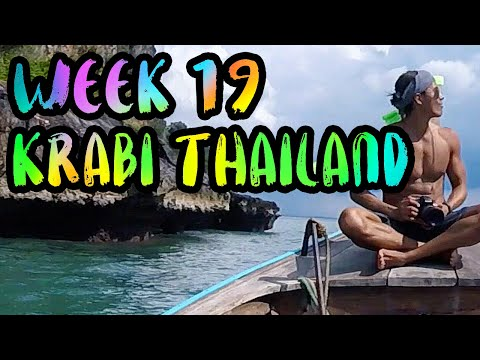 BEST of Thailand!! Night market, Long Tail Boats, and Tuk Tuks!! /// WEEK 19 : Krabi, Thailand