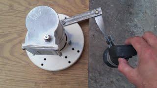 Как на спутниковую тарелку сделать крепление для дополнительной головки 2