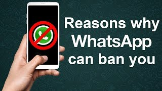 11 Reasons to avoid getting banned on whatsapp - Dont miss the 9th one   2019   Hindi   100% Working