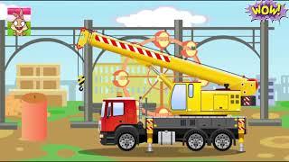 Мультфильмы про машинки / Как после аварии ремонтировали грузовик