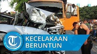 Truk Rem Blong Sebabkan Sembilan Kendaraan Kecelakaan Beruntun di Ancol