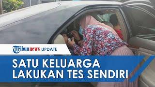 Tak Bawa Surat Antigen saat ke Bogor, Satu Keluarga Lakukan Tes Sendiri di Hadapan Petugas