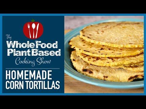Plant Based Vegan Corn Tortillas (Gluten free)