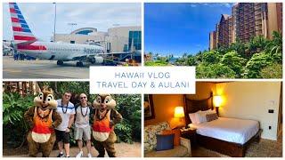 Hawaii Vlog - May 2019 - Travel Day & Checking In to Disney's Aulani resort