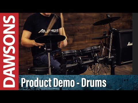Alesis Turbo Mesh Electronic Drum Kit Bundle Dawsons Music