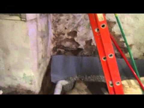 basement waterproofing Philadelphia Sahara waterproofing french drain & sump pump