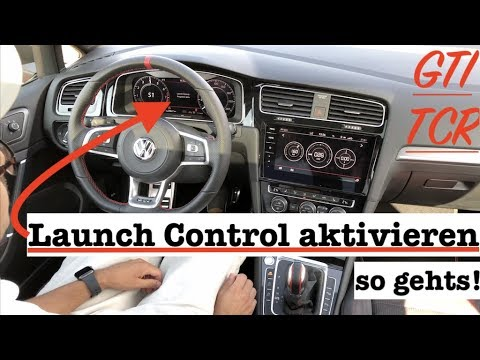 VW Golf 7 GTI TCR Launch Control aktivieren - so gehts!