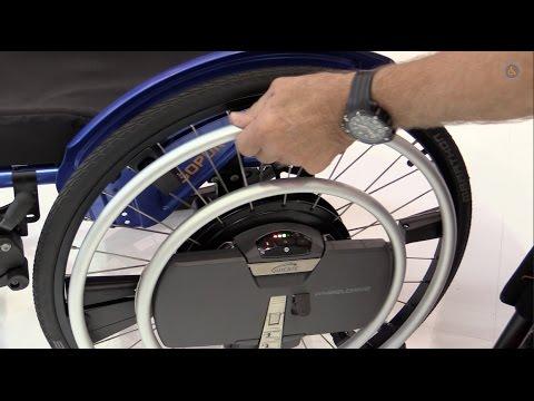 Zusatzantrieb Elektro Rollstuhl Weltneuheit Sopur