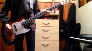 U2 - Beautiful Day (Bass Cover)