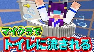 【Minecraft】まさかのマイクラでトイレに流される!?マインクラフトには超危険なトイレがあった!!【ゆっくり実況】【マインクラフトmod紹介】