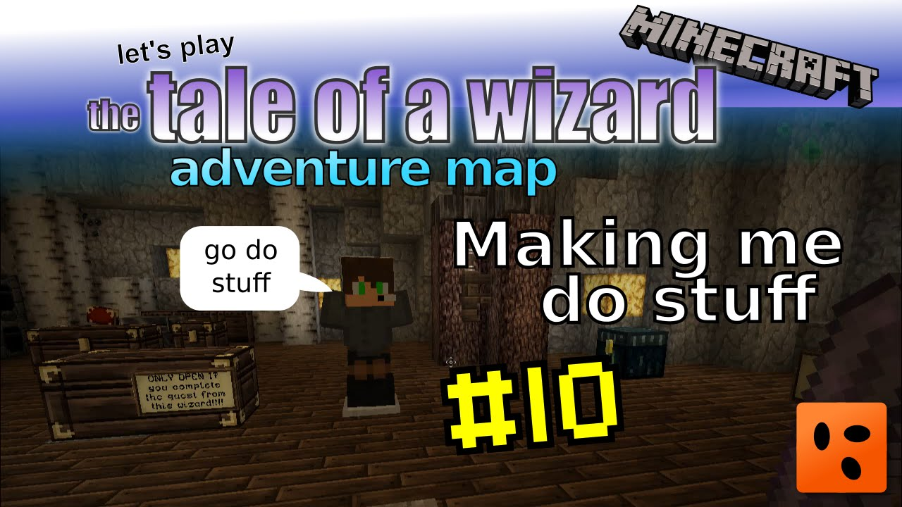 Tale of a Wizard | Minecraft Adventure Map #10 | Making me do stuff