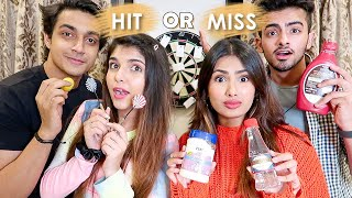 THROWING A DART & EATING WHATEVER IT LANDS ON | Aashna Hegde