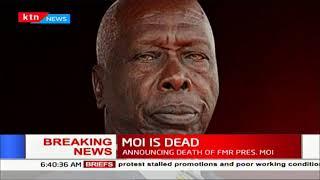 BREAKING NEWS: Former president of Kenya Daniel Toroitich Arap Moi is dead