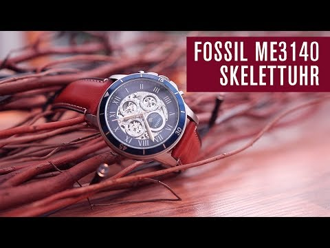 Fossil ME3140 Skelettuhr | Automatik | Test | Review | Deutsch