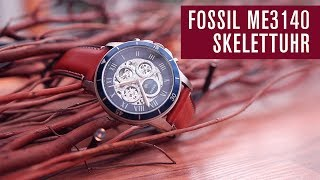 Fossil ME3140 Skelettuhr | Automatik | Test | Review | Deutsch