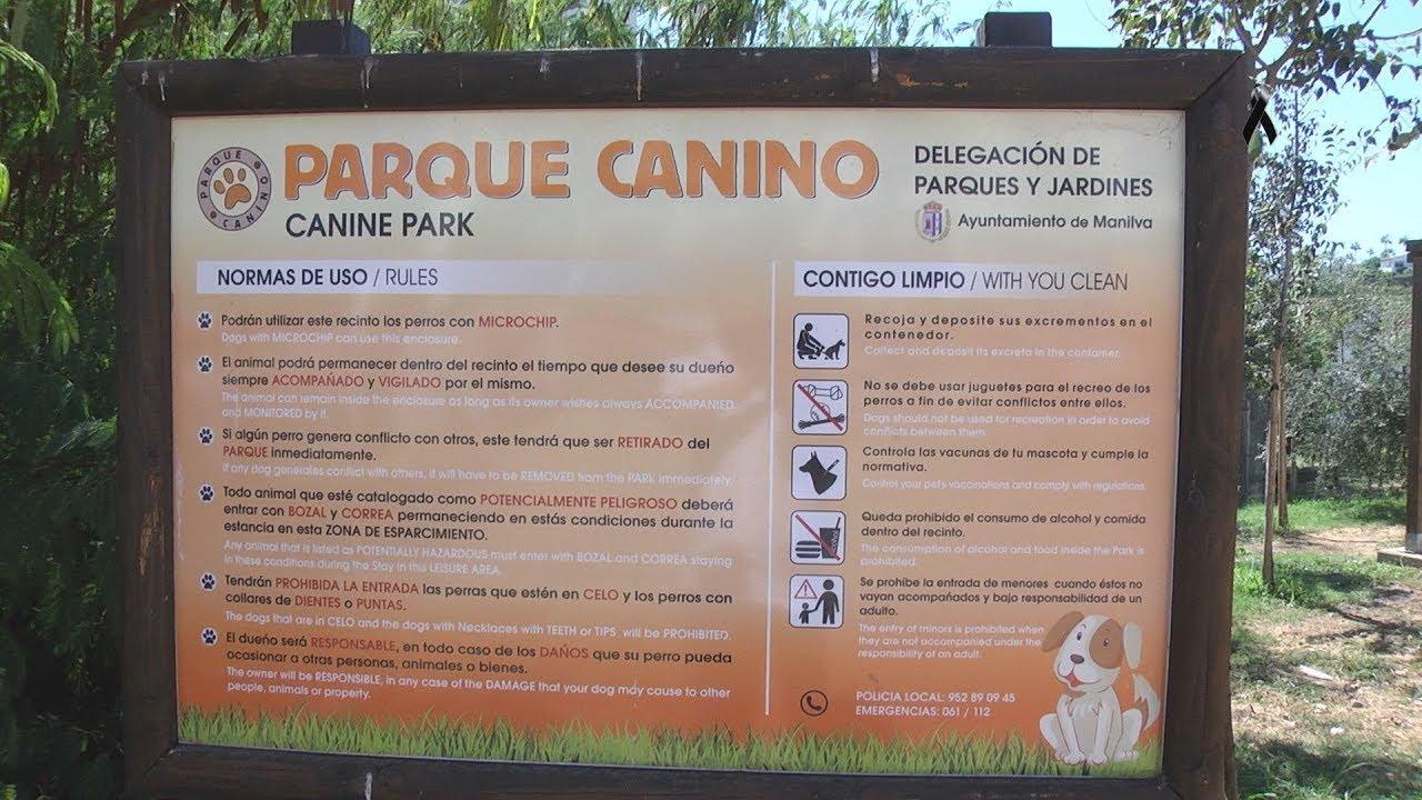 Apertura del Parque canino