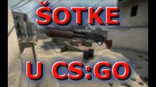 Kako koristiti SHOTGUN puske (CS:GO)
