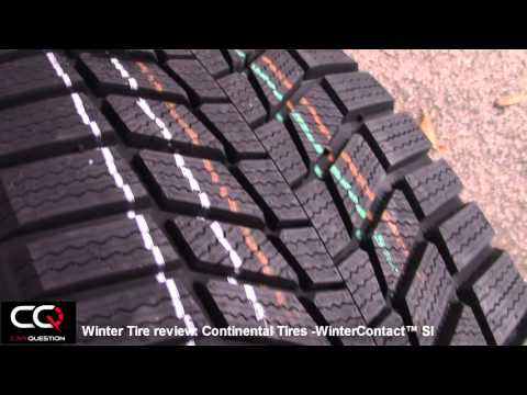 Winter Tire Review: Continental Tires WinterContact SI, Top tire for winter performance!