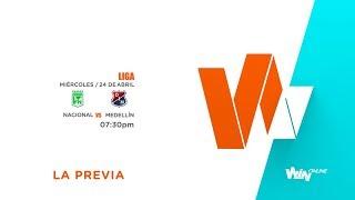 Nacional Vs Medellín (La Previa) - Liga Aguila 2019-I - Fecha 10