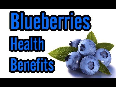 Video Top 10 Health Benefits of Blueberries