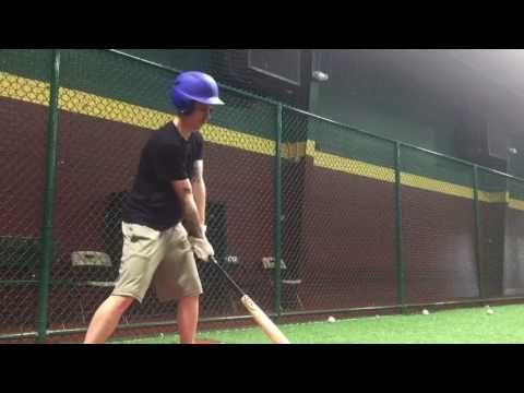 Rawlings Velo Maple Wood Baseball Bat In Action