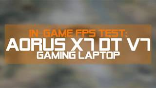 [In-Game FPS Test] The PUBG on X7 DT v7!