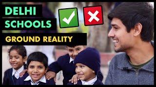 Ground Reality of Delhi Govt Schools | Jumla or Truth? |By Dhruv Rathee