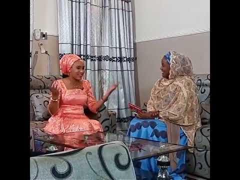FATI MOHAMMAD FT HADIZA GABON ON SET Hausa Songs : Hausa Films