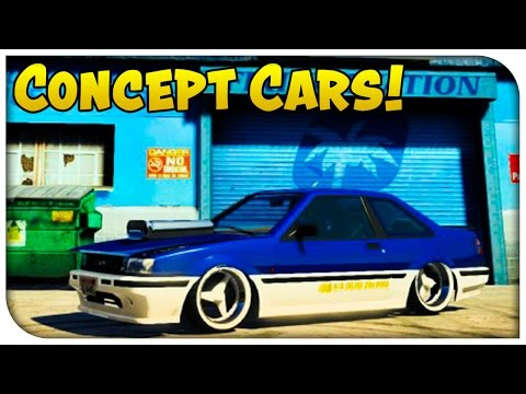 GTA 5 Awesome Combined Concept Cars! Combining Hex Values To Create Epic Modded Cars! [GTA V]