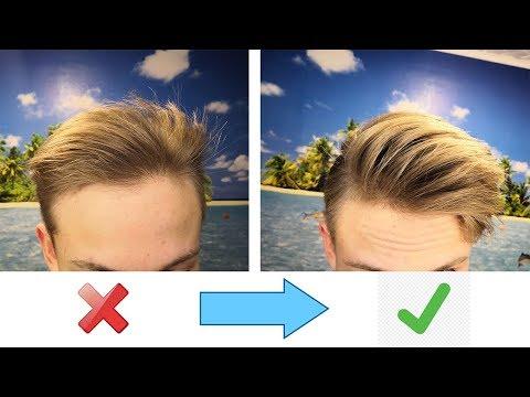 Мужские причёски / 5 Советов, которые помогут сделать объёмную причёску   Быстрая укладка волос